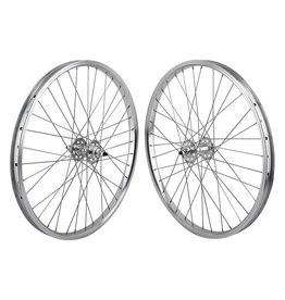 SE BIKES 24x1.75 (507x24) SE Bikes Silver 36h 1s Freewheel Sealed 3/8, 110mm