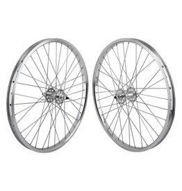 SE BIKES 24x1.75 (507x24) SE Bikes Silver 36h 1s Freewheel Sealed 3/8, 110mm