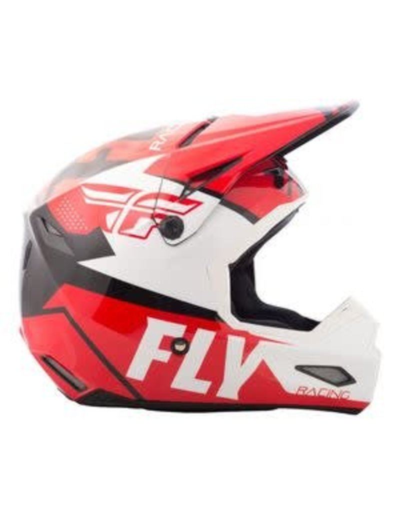 Fly Racing Fly Elite Vigilant Helmet Red/Black Medium