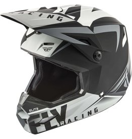 Fly Racing Fly Elite Vigilant Helmet Matte Black / Gray Medium