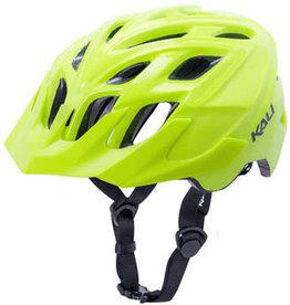 Kali Protectives Kali Chakra Solo Helmet: Solid Fluoro Yellow, LG/XL