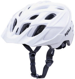 Kali Protectives Kali Protectives Chakra Solo Helmet: Solid White LG/XL