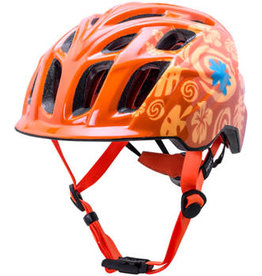 Kali Protectives Kali Chakra Child Helmet: Tropical Orange, One Size