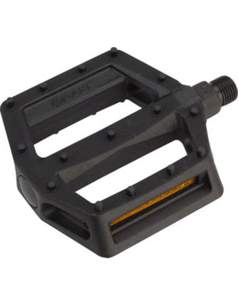 "Salt Salt Junior V2 Nylon Pedals 9/16"" Black"