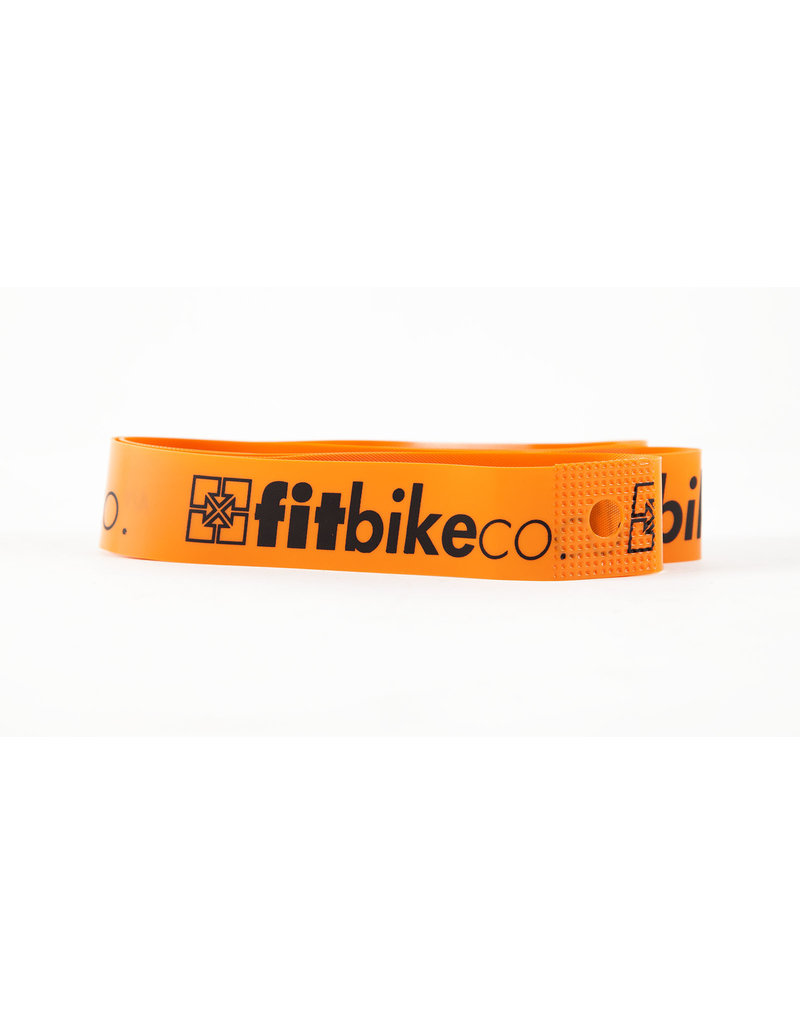 "Fit Bike Co Fit 20"" Rimstrip - Orange"
