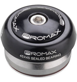 "Promax Promax IG-45 Alloy Sealed Integrated 45x45 1-1/8"" Headset Black"