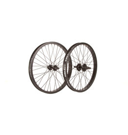 "Fit Bike Co 20"" FIT OEM Cassette Wheel Set Black"