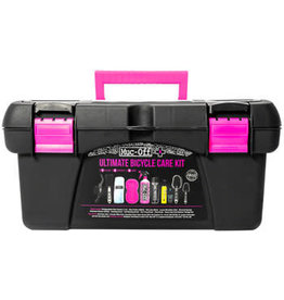Muc-Off Muc-Off Ultimate Bicycle Cleaning Kit: Toolbox with 10 Pieces