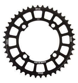 BOX BOX Two Cosine Chainring 104mm BCD 44t, Black