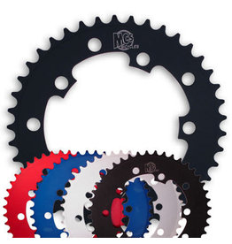 MCS MCS 5-Bolt Chainring - 39T Blue