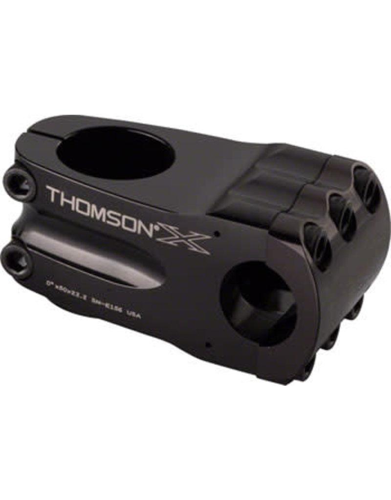 "Thomson Thomson Elite BMX Stem 50mm 7/8"" +/- 0 degree Black"