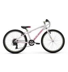"Raleigh 2017 Raleigh Lily 24"" G24 White Youth MTB"
