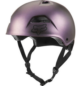Fox Racing Fox Racing Flight Sport Helmet: Black Iridium Medium