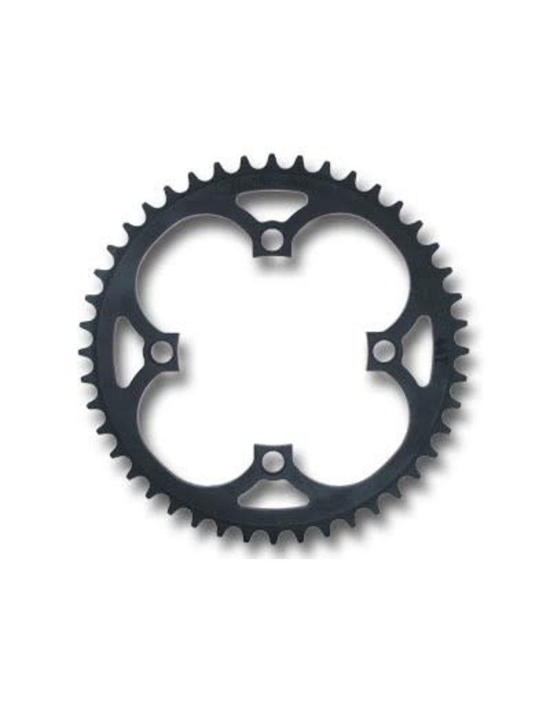 PROFILE RACING 4-BOLT 104MM 45T BLACK BMX BICYCLE CHAINRING
