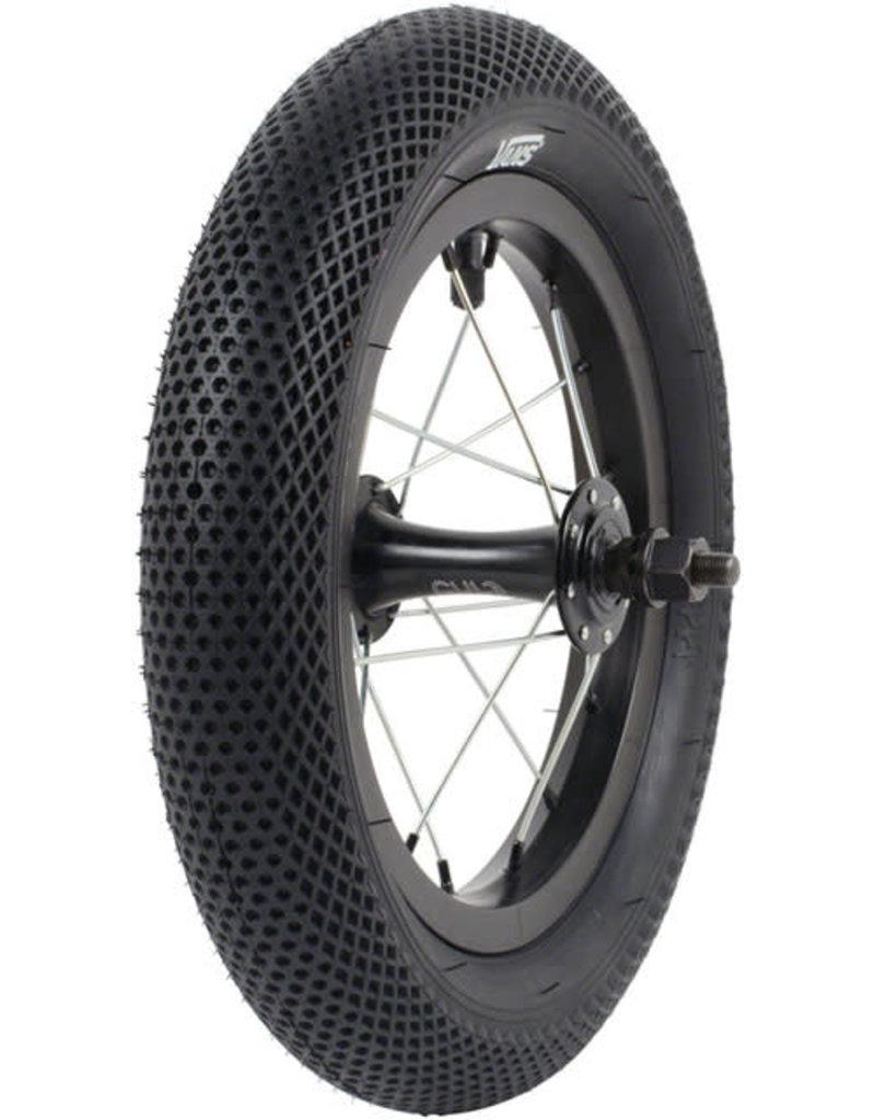 Cult 12x2.2 Cult x Vans Tire - Clincher, Steel, Black