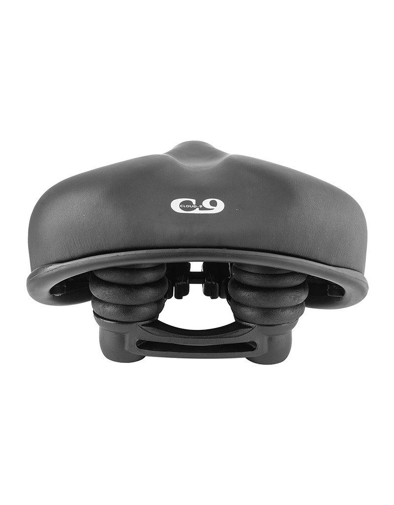C9 Comfort Saddle Ladies Emerald Wide Black