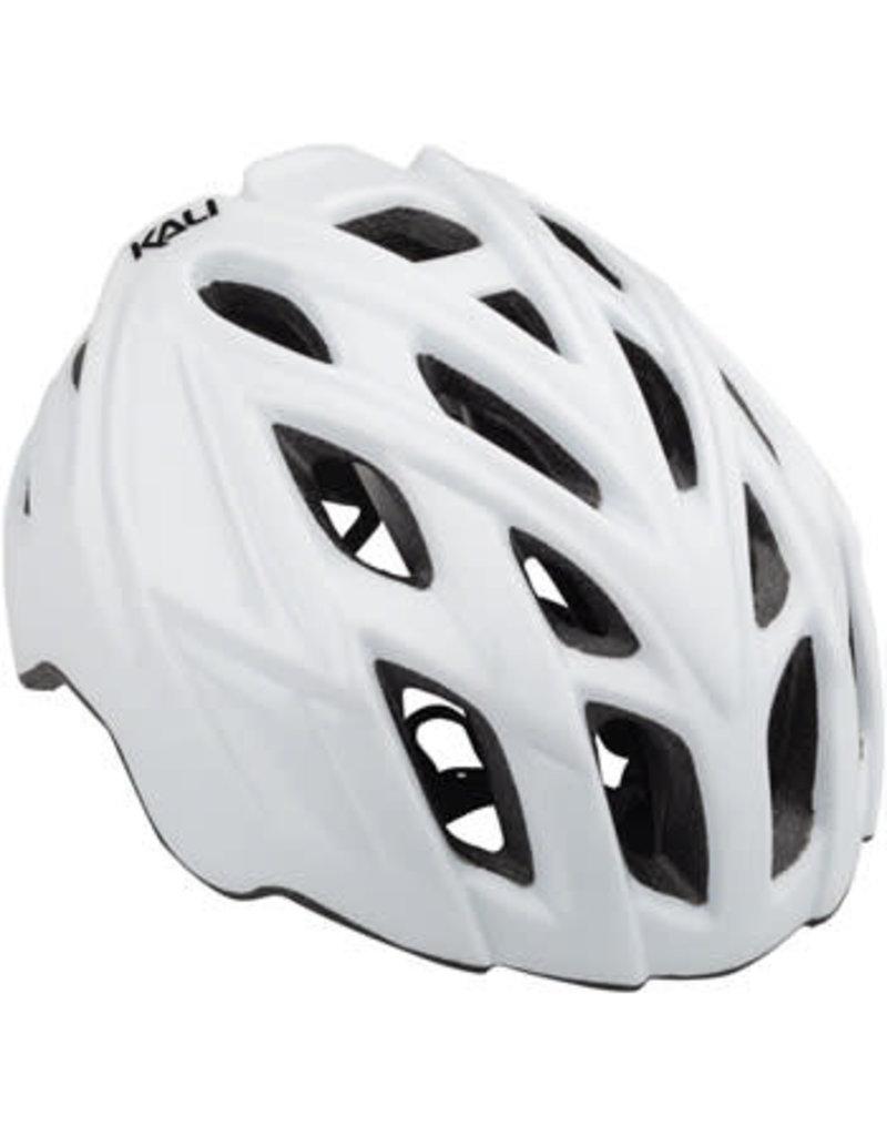 Kali Protectives Kali Protectives Chakra Mono Helmet: Solid Gloss White LG/XL
