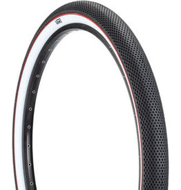 Cult 29x2.1 Cult x Vans Tire - Clincher, Steel, Black/White/Red