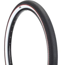 Cult 29x2.1 Cult x Vans Tire - Clincher, Steel, Black/White/Red