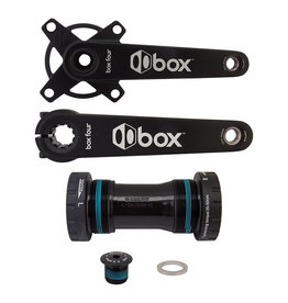 BOX COMPONENTS Box Four Crankset with BB, 160mm - Black