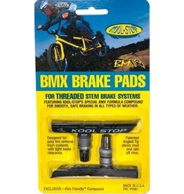 Kool Stop Kool-Stop BMX Threaded Brake Pads Black Compound
