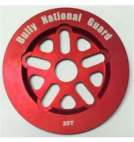 Bully BULLY National Guard Sprocket 25T Red