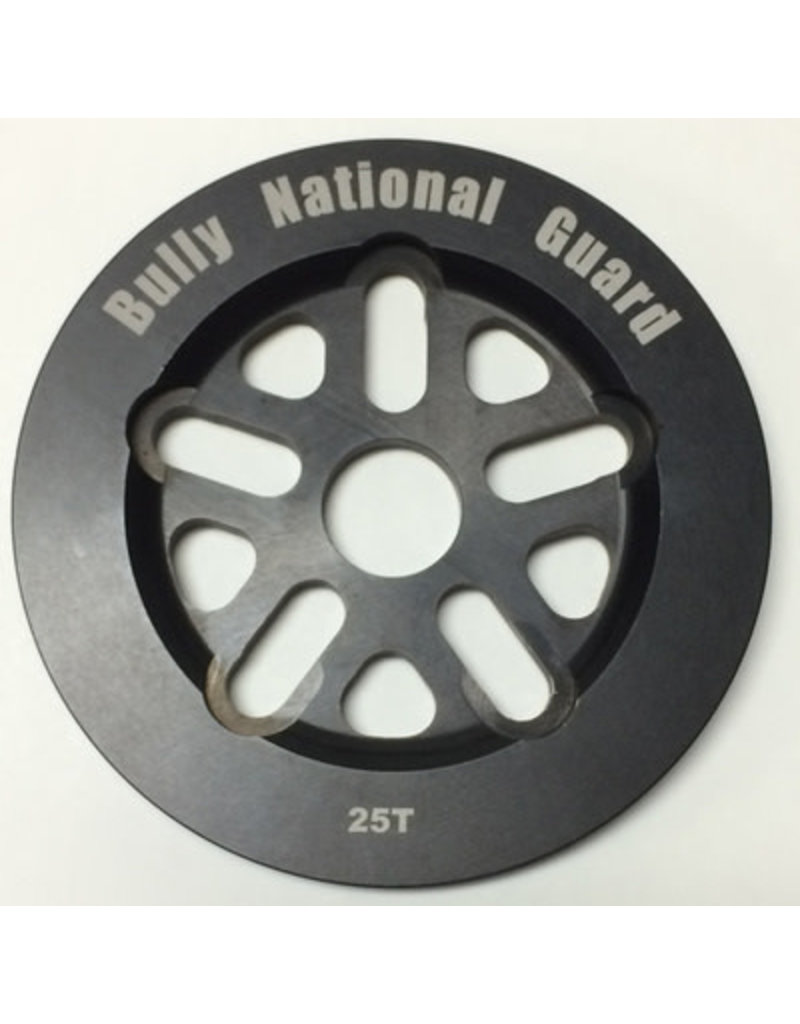 Bully BULLY National Guard Sprocket 25T Black
