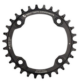 Wolf Tooth Components Wolf Tooth Drop-Stop Chainring: 32T, 96BCD, Shimano Symmetric Cranks