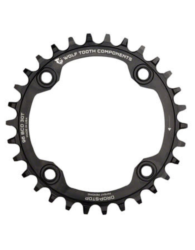 Wolf Tooth Wolf Tooth Drop-Stop Chainring: 32T, 96BCD, Shimano Symmetric Cranks