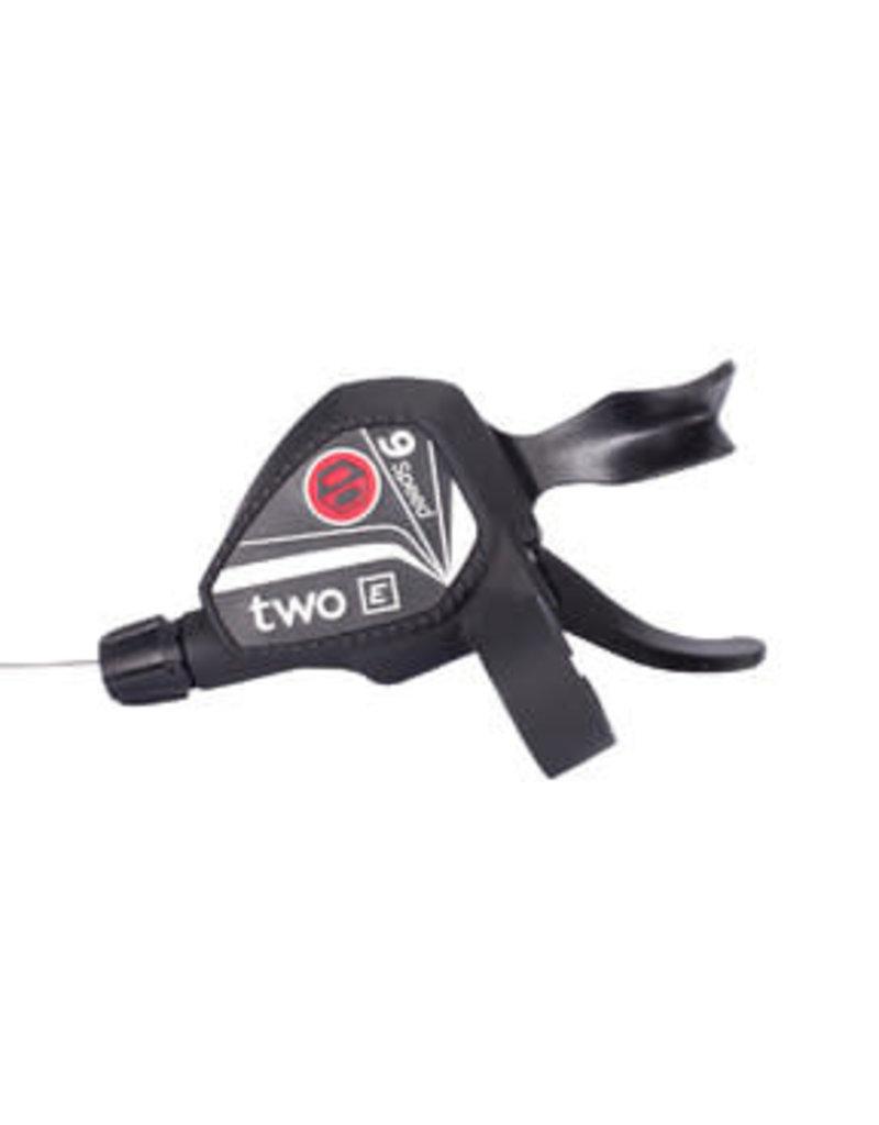 BOX COMPONENTS BOX Two E-Bike Twin Lever Shifter, 9sp - Black