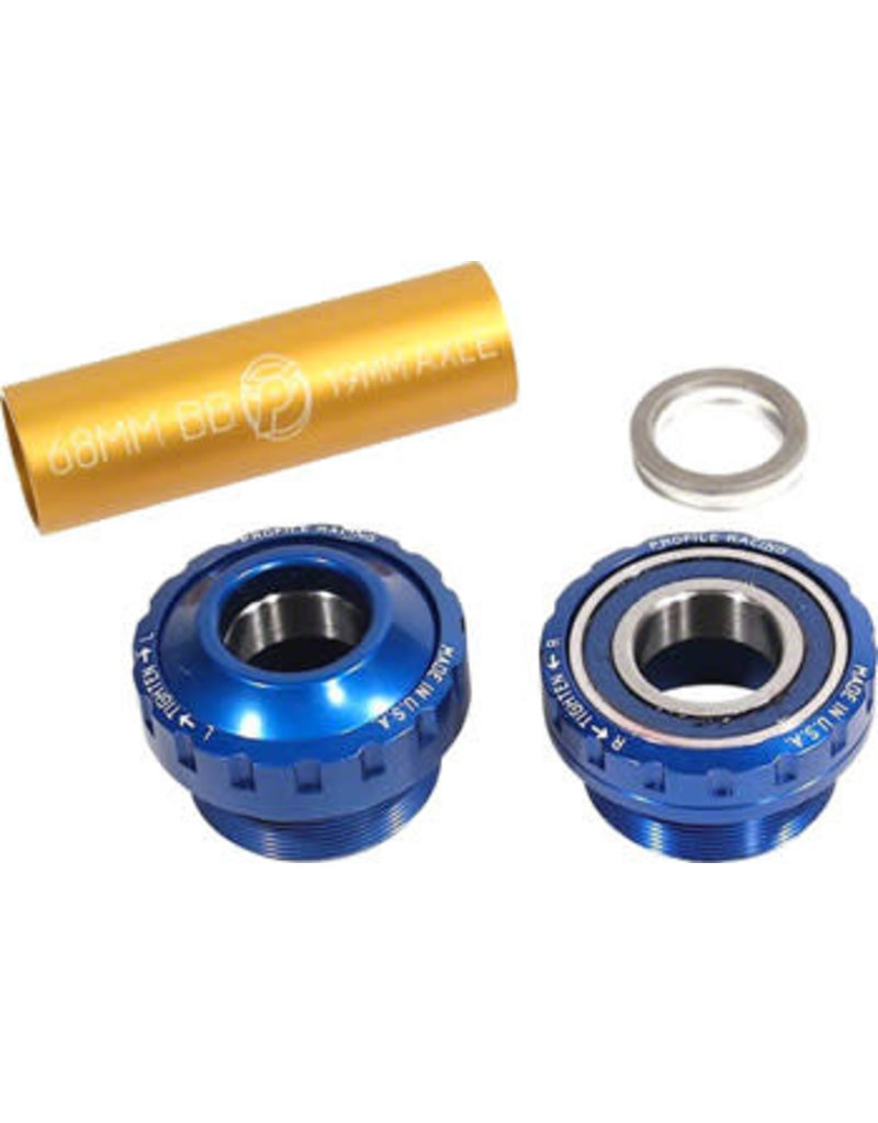 Profile Racing Profile Racing Outboard Bearing Bottom Bracket Blue (no Spindle)