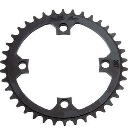 Profile Racing Profile Racing 4-bolt 104mm Chainring, 39t Black
