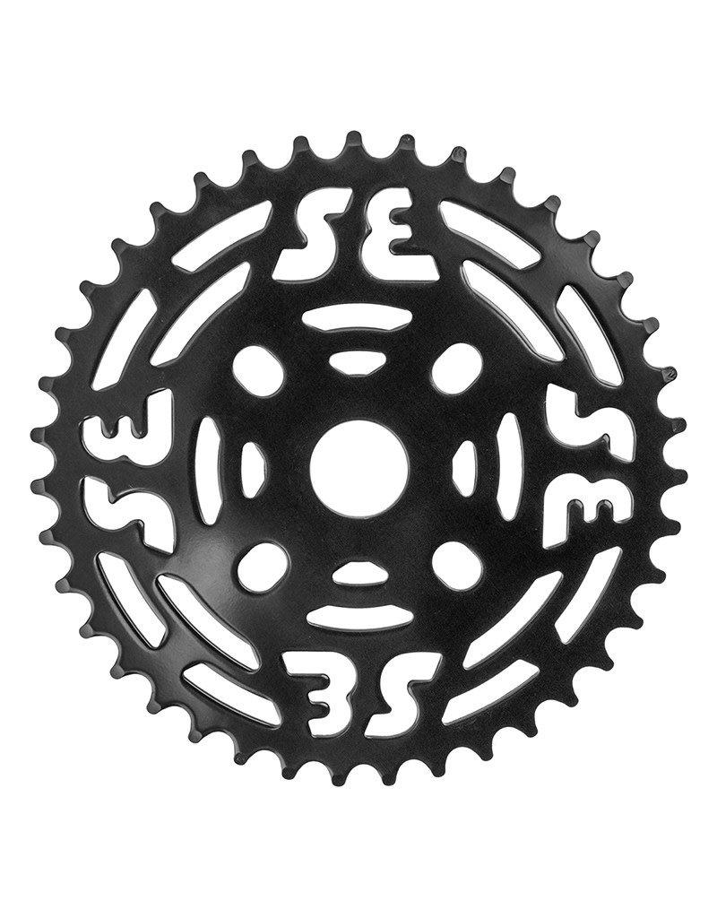 SE BIKES SE Bikes 1pc Chainwheel 39T 1/8 Steel Black