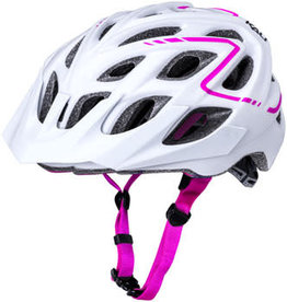 Kali Protectives Kali Chakra Plus Reflex Helmet, Matte White Pink, Small/Medium