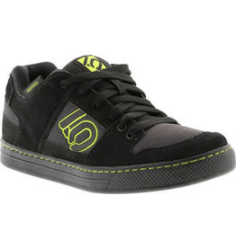 Five Ten Five Ten Freerider Men's Flat Pedal Shoe: Black Slime 8.5
