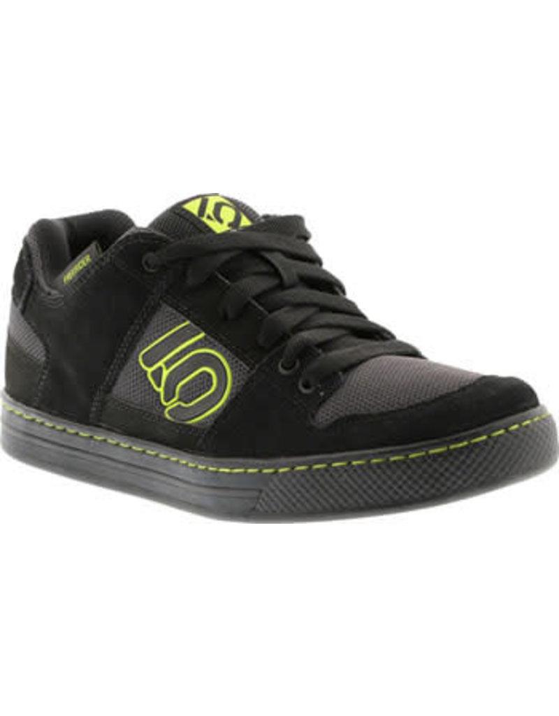 Five Ten Five Ten Freerider Men's Flat Pedal Shoe: Black Slime 8.5