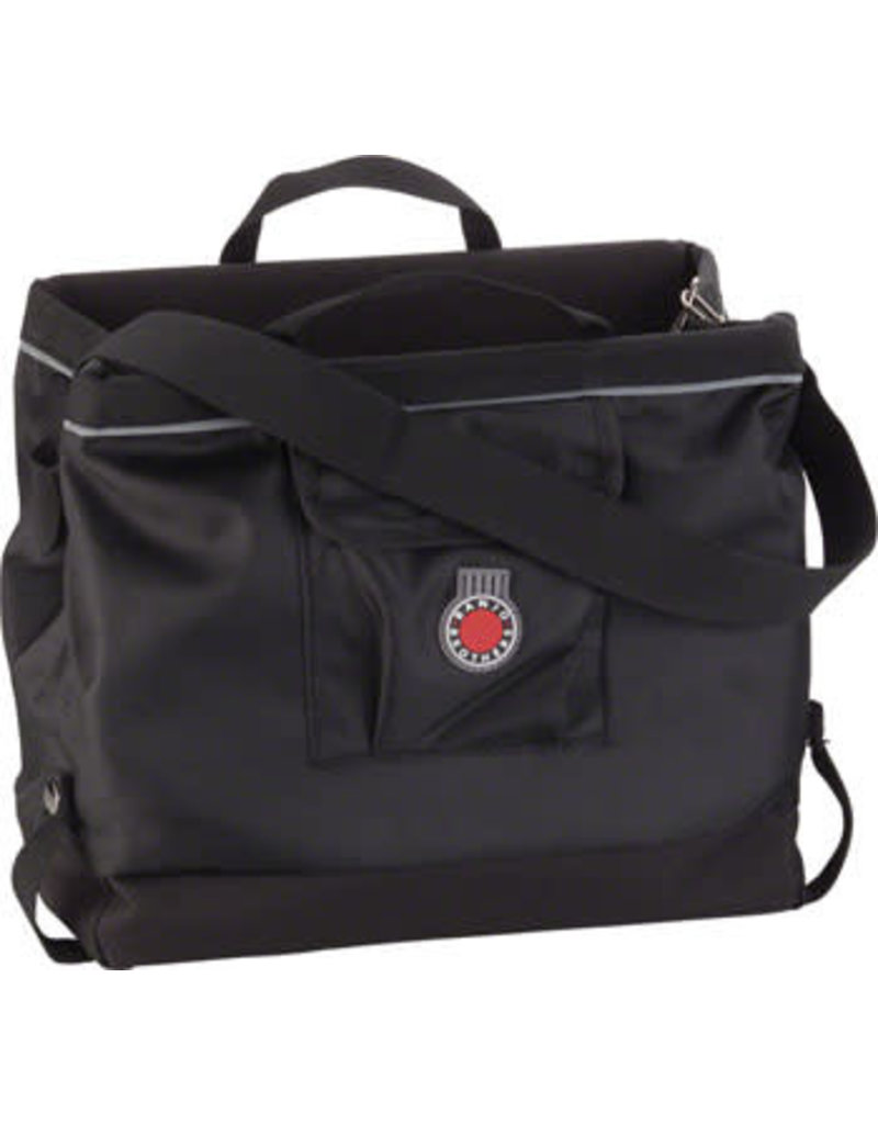Banjo Brothers Grocery Pannier: Black, Each
