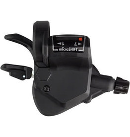 Microshift microSHIFT Mezzo Right Thumb-Tap Shifter, 7-Speed, Optical Gear Indicator, Shimano Compatible