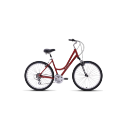 Raleigh 2019 Raleigh Venture 2 Step Thru Red Women's Small