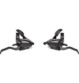 Shimano Shimano ST-EF500 3 x 8-Speed Brake/Shift Lever Set Black