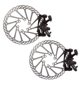 Clarks Clarks Disc Brake Set CMD-21 Mechanical F&R 160mm Black