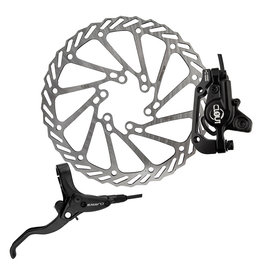 Clarks Clarks Disc Brake Clout-1 Hydraulic Rear w/Lever 160mm Black