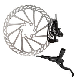 Clarks Clarks Disc Brake Clout-1 Hydraulic front w/Lever 180mm Black