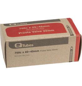 Q-Tubes 700c x 40-45mm 32mm Presta Valve Tube 188g