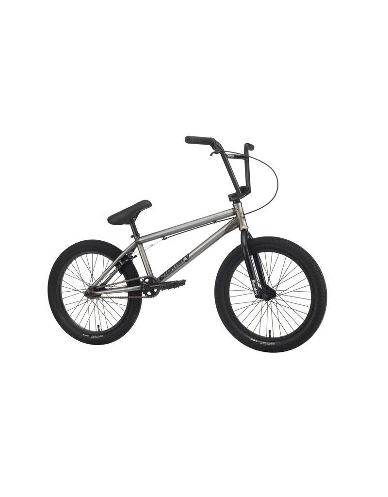 """Sunday 2020 Sunday Scout BMX Bike - 21"""" TT, Matte Raw"""