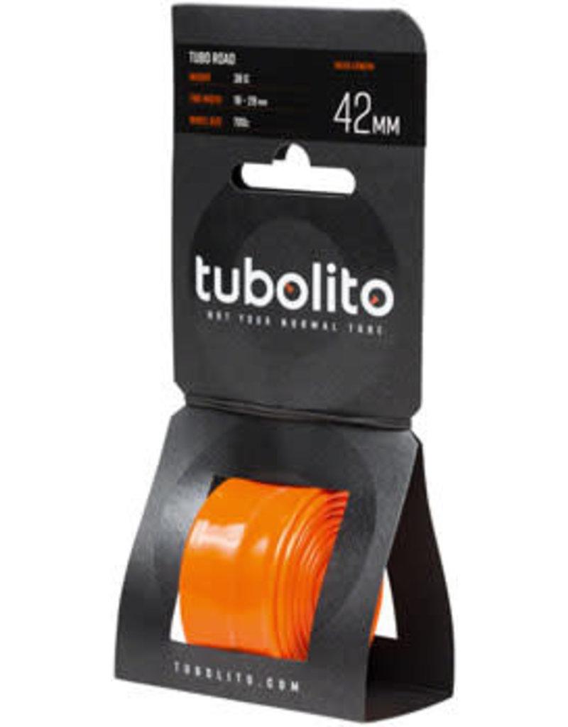 Tubolito 700x18-28mm Tubolito Tubo Road Tube, 42mm Presta Valve