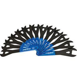 Park Tool Park Tool SCW-SET.3 Cone Wrench Set 13-24, 26, and 28mm, Blue/Silver