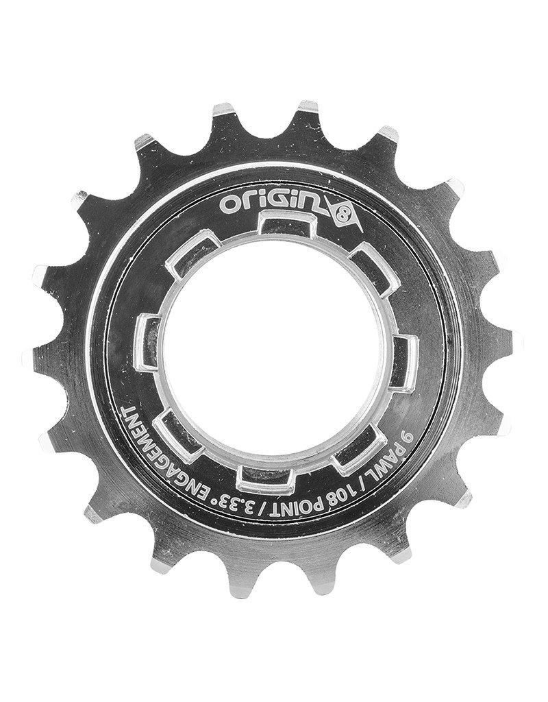 Origin8 Origin8 Freewheel 18T, 1/8 CNC CroMo 8-Key Release Chrome Plated