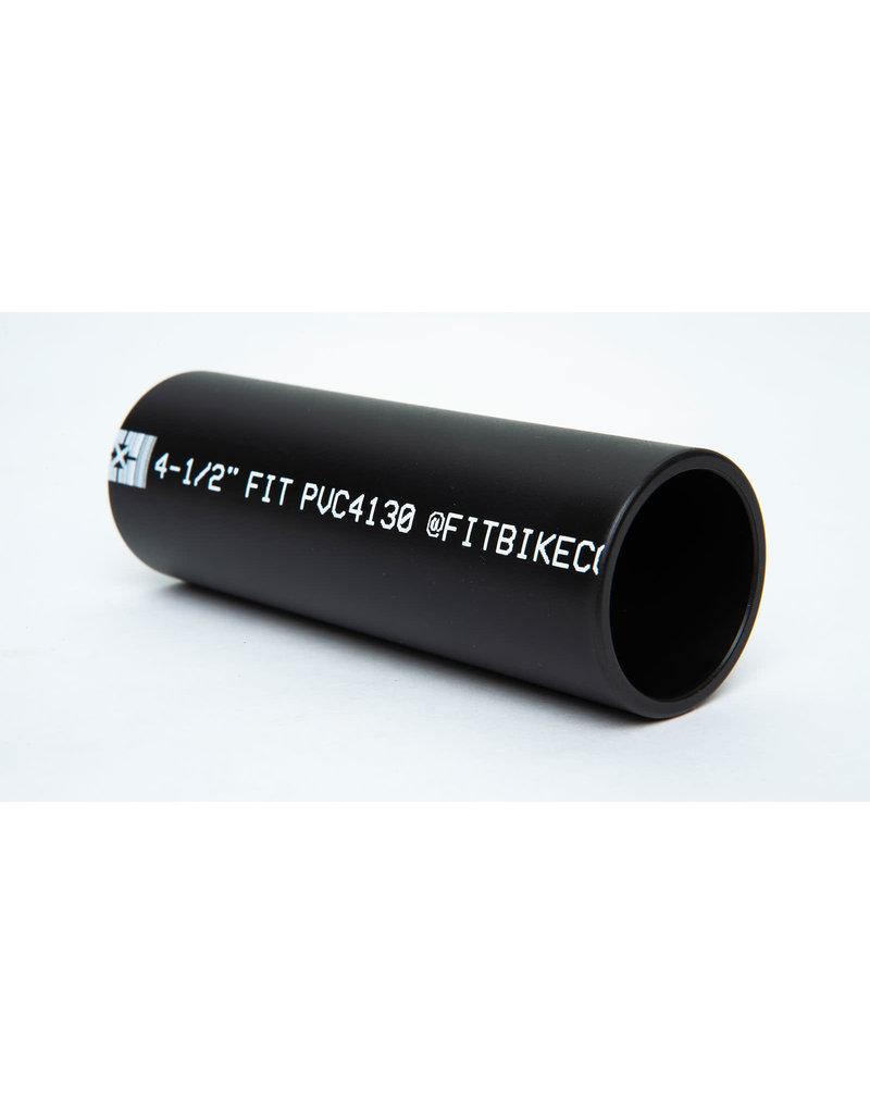 """Fit FIT """"PVC"""" 4.5"""" Peg Sleeve Black (1 sleeve)"""