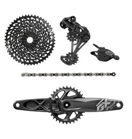SRAM SRAM GX Eagle 1x12 Group Set - Rear Derailleur/Trigger-Shifter/Crank 170x32 GXP, Boost/Chain/Cassette (10-50t)